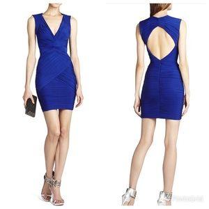 BCBGMAZAZRIA Blue Mini Cocktail Dress